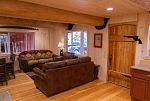 view of living room cabin